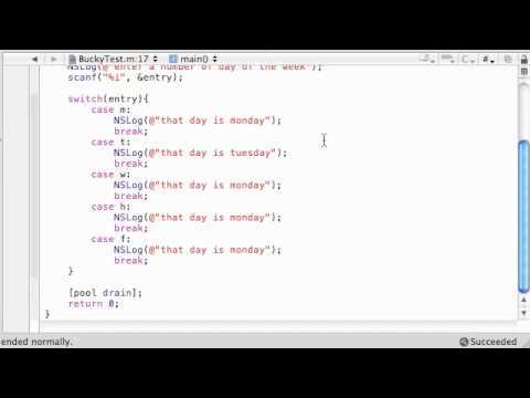 how to use enum in objective c