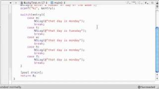 Objective C Programming Tutorial - 47 - Enum Program