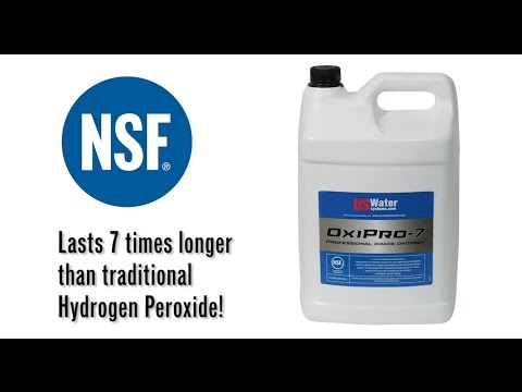 Hydrogen Peroxide For Removing Sulfur And Iron