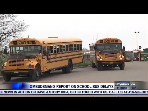 Ombudsman to release findings into Toronto school busing issues