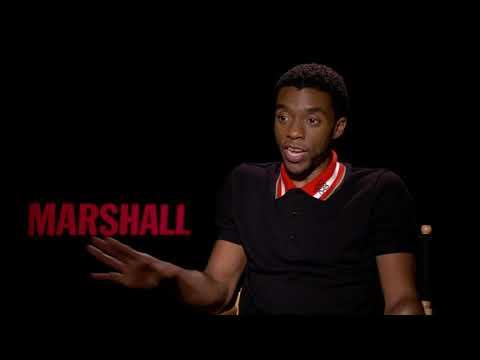 Marshall    Itw Chadwick Boseman  video
