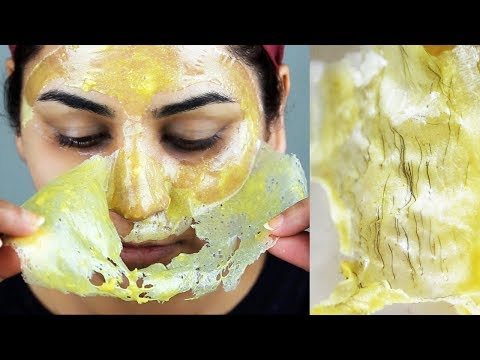 How to Remove Facial Hair PERMANENTLY | 100% NATURAL Home Remedy | SmithaDBeauty