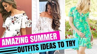 2018 SPRING AND SUMMER OUTFIT IDEAS | LOOKBOOK | CHAPTER 1
