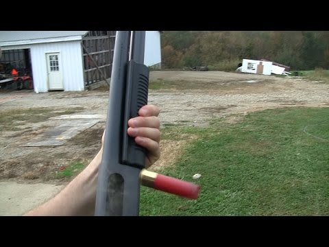 12 Gauge Shotgun: Little Man Felt Recoil
