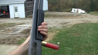 12 Gauge Shotgun: Little Man Felt Recoil