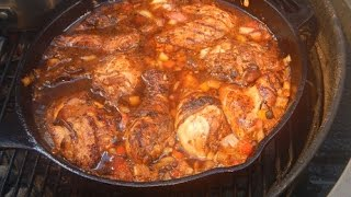 Jamacian Brown Stew Chicken