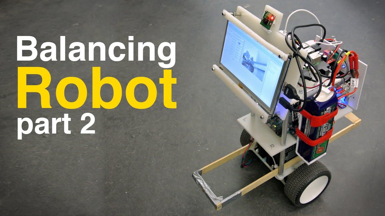 Balance bot - The MagPi MagazineThe MagPi Magazine
