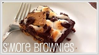 Recipe- S'more Brownies