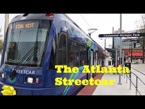 The Atlanta Streetcar in Atlanta, GA
