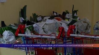 Yvelines | Une distribution de paniers garnis pour les étudiants guyancourtois en difficulté