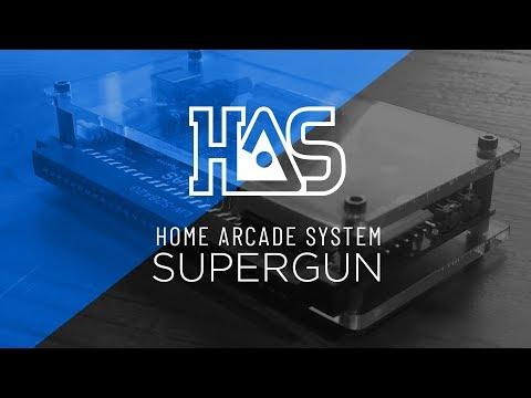 How to setup HAS Home.Arcade.System SuperGUN v3.1