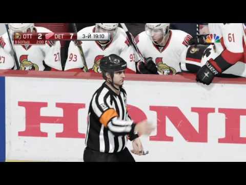 JHL2016 1/2 Detroit - Ottawa  5 game