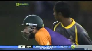vuclip Shahid Afridi 100m Monster Six to Saeed Ajmal in Slpl 2012 HD