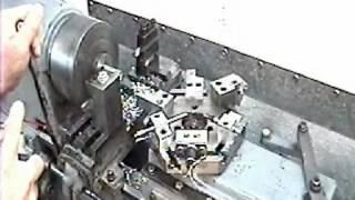 working of Capstan Lathe machine