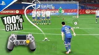 FIFA 22 - ALL FREE KICKS TUTORIAL | TRIVELA, KNUCKLEBALL,POWER, RABONA!