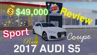 AUDI S5 SPORTS CAR REVIEW 2017!!! roblox greenville