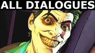 All Dialogues In The Joker