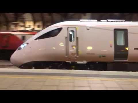 New 800032 through York on 5X80 Merchant Park to Doncaster Carr IEP Depot 26/01/18