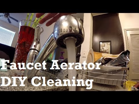 How To Clean Your Faucet Aerator in 30 seconds