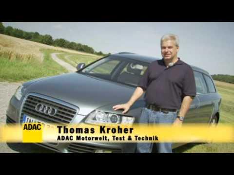 ADAC Autotest: Audi A6 Avant