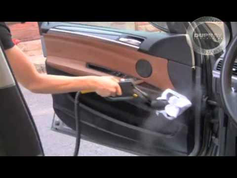 How To Steam Clean Car Door Panels U2013 Dupray   YouTube