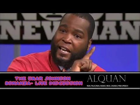 The Umar Johnson back & forth - live discussion!  w/Marc Jones