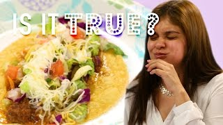 Latinos Make Better Tacos?