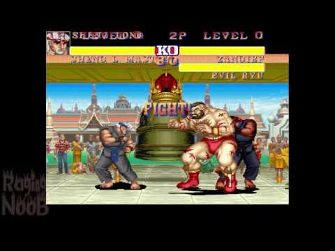 Street Fighter 2 / Sheng Long Master vs Everyone (1v2)