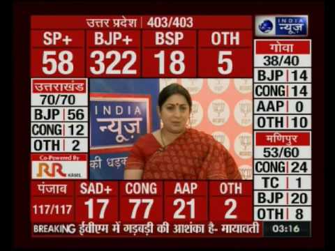 Election Result 2017: Smriti Irani speaks exclusively to India News
