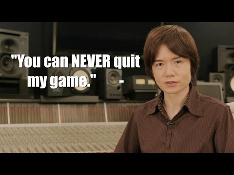 You Can Never Quit Smash Bros