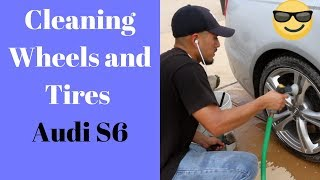 How To CLEAN Wheels - Step-by-Step Process on Audi S6 - Wheel Cleaning Tips