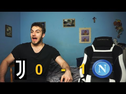 JUVENTUS 0 1 NAPOLI - INCUBO KOULIBALY - LIVE REACTION W/ BLUR