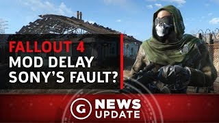 Bethesda Blames Sony for Fallout 4 Mod Delay on PS4 - GS News Update