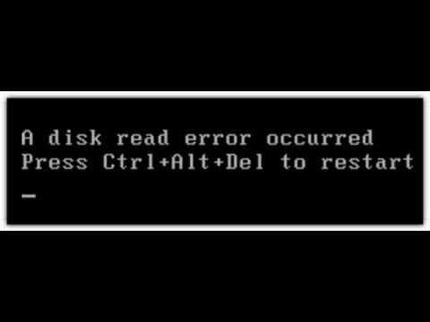 a disk read error occurred - Perfect Solution Fix easily(All Possible Fixes)