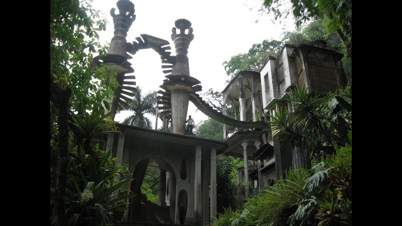 Castillo Surrealista Edward James Xilitla S L P Youtube