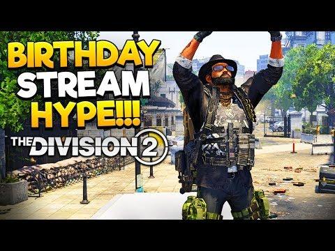 Birthday Stream + 1yr Stream Anniversary - Endgame is NOW! - !div2clan for Clan Details