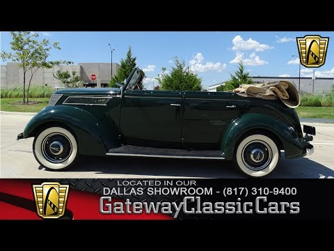 1937 Ford Phaeton #475-DFW Gateway Classic Cars of Dallas