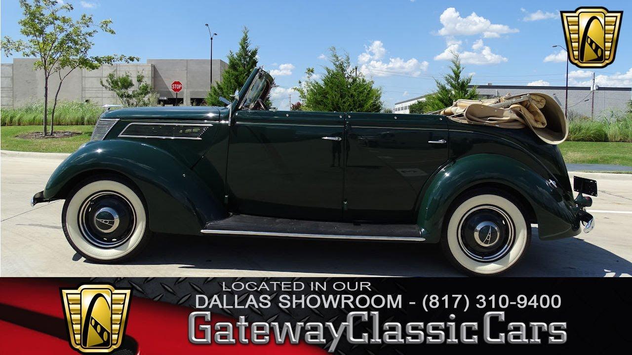 1937 Ford Phaeton #475-DFW Gateway Classic Cars of Dallas - YouTube