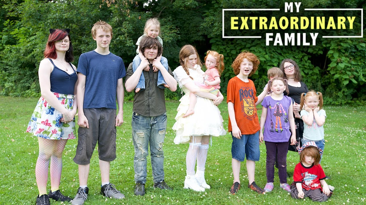 I Colour Code My 11 Children So I Don't Lose Track | MY EXTRAORDINARY FAMILY