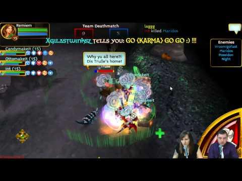 Golden Lotus Vs. Karma   Cupid's Clash PvP Tournament Semi Finals   Arcane Legends