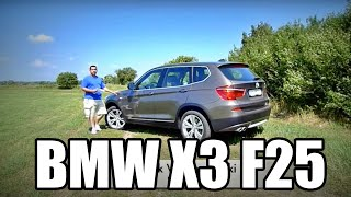 (ENG) BMW X3 xDrive35d - Test Drive and Review