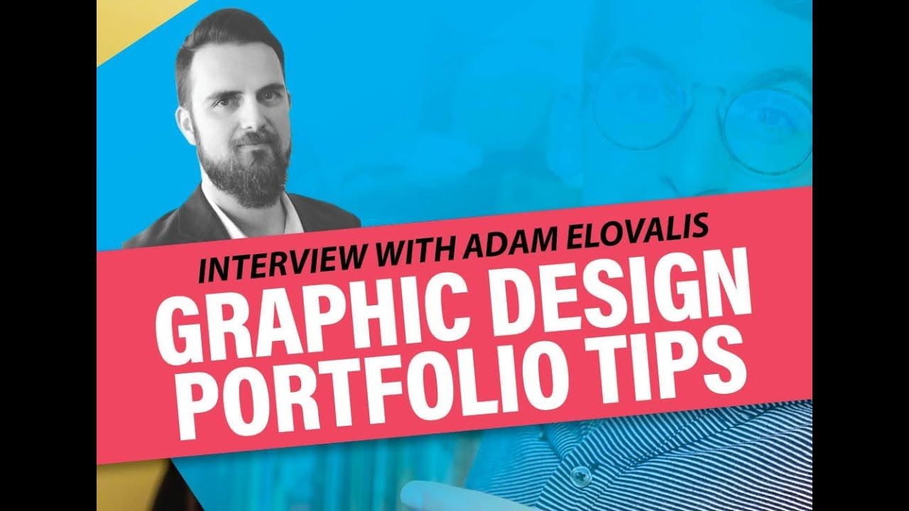 Graphic design portfolio for job interview
