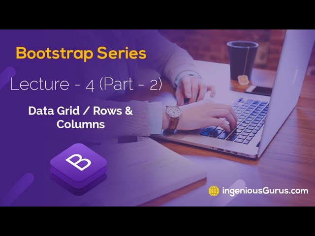 Data Grid in Bootstrap - Lecture 4 Part-2 - Urdu/Hindi - Bootstrap Series with AK