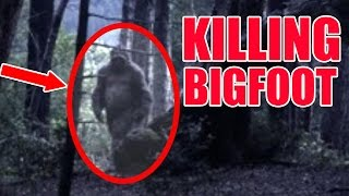 "WE FOUND BIGFOOT & TRY TO KILLL HIM ""NEW Scariest Game!!!"" (Scary)"