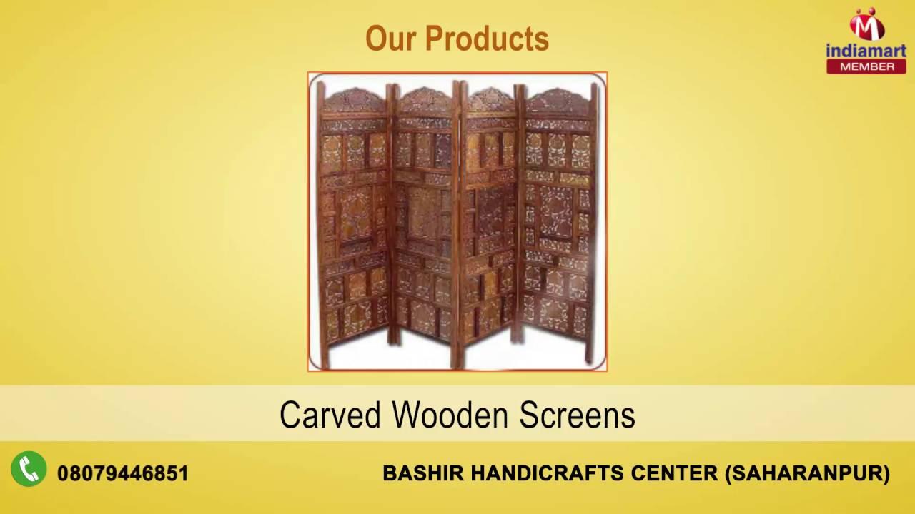 Wooden Handicrafts By Bashir Handicrafts Center Saharanpur Youtube