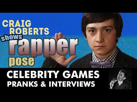 Craig Roberts Shows His Gangster Rapper Pose - FUNNY by Kevin Durham
