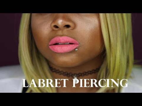 How To Pierce Your Own Lip Labret
