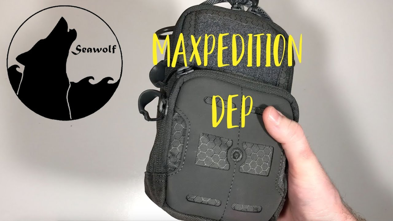 Maxpedition DEP Daily Essentials Pouch Grey