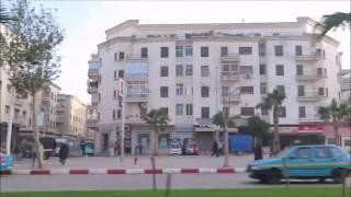 من ساحة الجامعة العربية الى سوق الجملة للخضر والفواكه حي العوامة طنجة 05-01-2017 morocco tangier