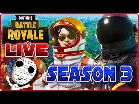Fortnite 🔴 Season 3 ist endlich da! // Mit Twicii - PS4 Livestream